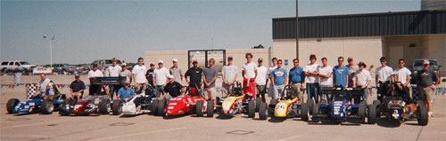 The 2005 entrants in the Tire Rack SCCA Solo2 National Championships.